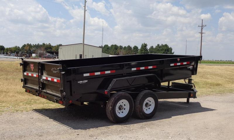"2020 PJ Trailers 83"" x 16' Low Pro (DL) Dump Trailer"