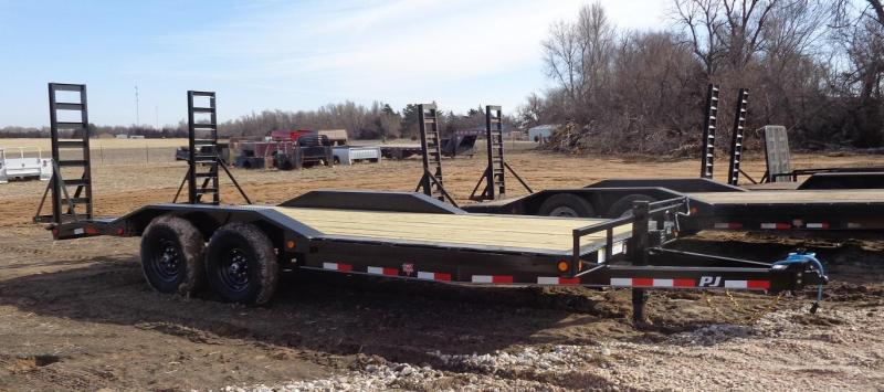 2020 PJ Trailers 6 in. Channel Super-Wide (B6) Equipment Trailer
