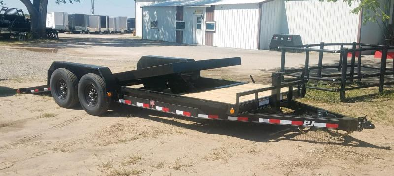 2020 PJ Trailers (T6) 20ft 6 in. Channel Equipment Tilt Trailer