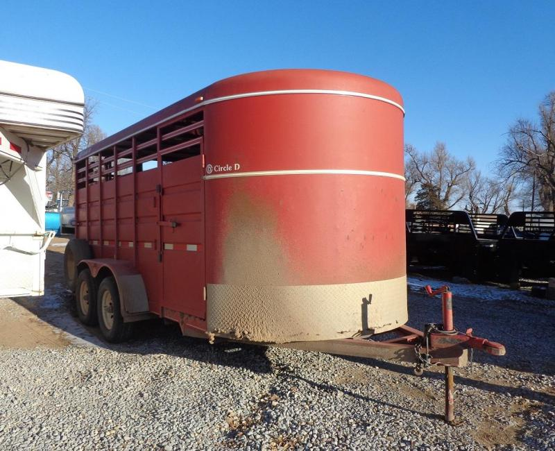 2011 Circle D Bumper pull Livestock Trailer