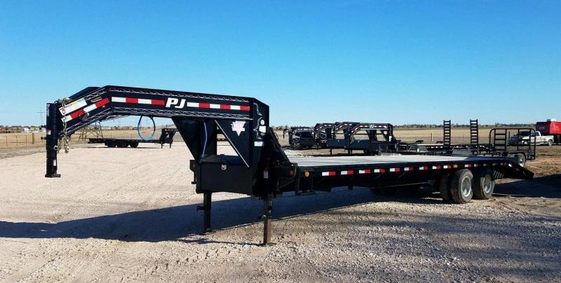 "2017 PJ Trailers 102"" x 30' Classic Flatdeck with Duals (FD)"