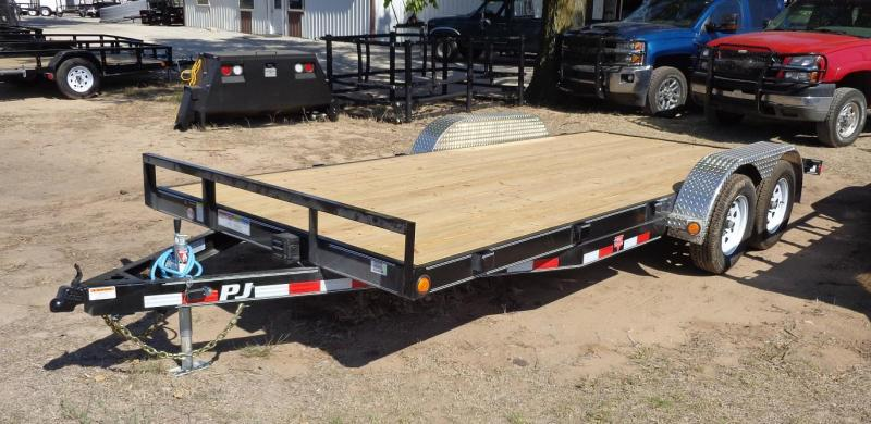 2020 PJ 20' x 5 in. Channel Carhauler