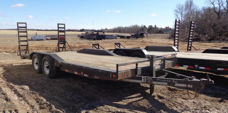 "2014 PJ Trailers 102"" x 20' Super-wide Equipment Trailer"