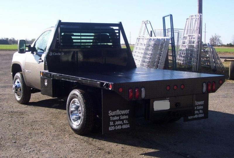 2019 Circle D 8' x 8.5 Dually Standard Flatbed