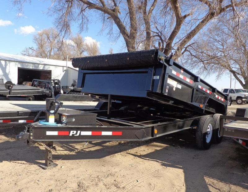 "2020 PJ Trailers 83"" x 14' Low Pro (DL) Dump Trailer"
