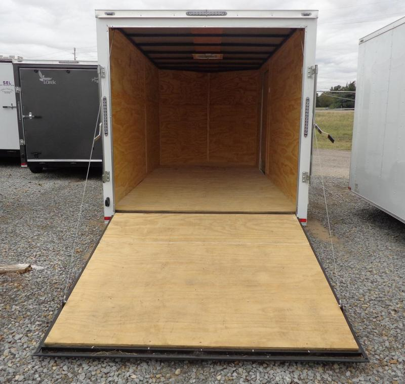 2020 Lark 7' x 14' V-Nose Enclosed Cargo Trailer