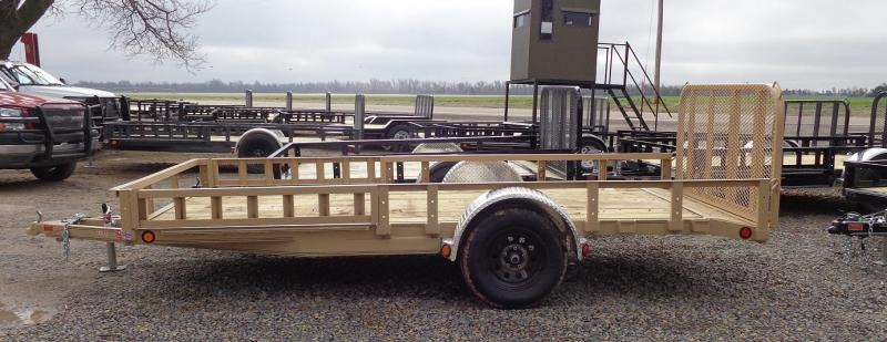 2020 PJ 14' x 77 in. Single Axle Channel Utility