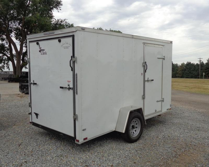 2020 Lark 6' x 12' V-Nose Enclosed Cargo Trailer