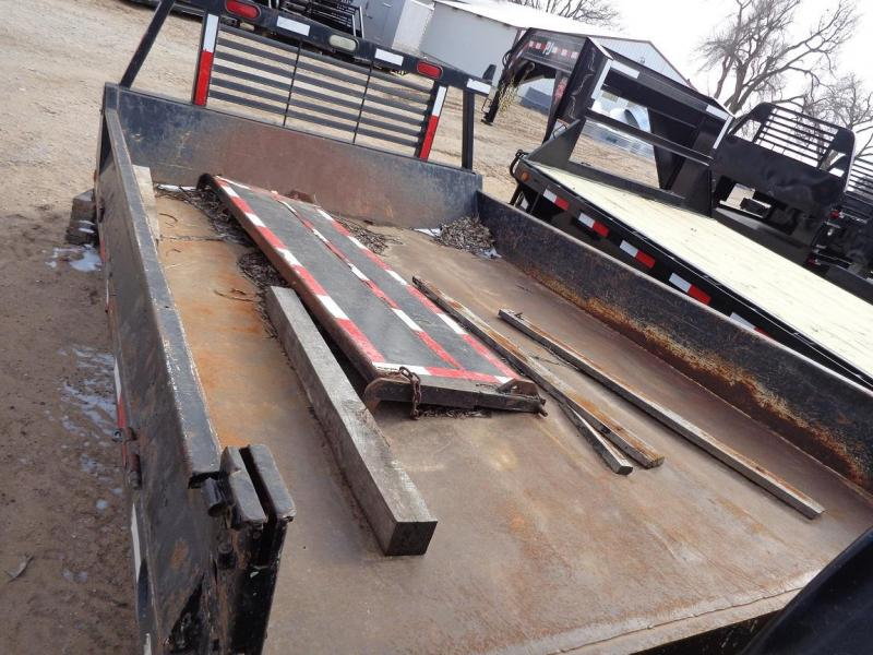 Used Dumping Flatbed Truck Bed