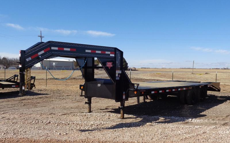 "2020 PJ Trailers 102"" x 25' Low-Profile Flatdeck with Duals"