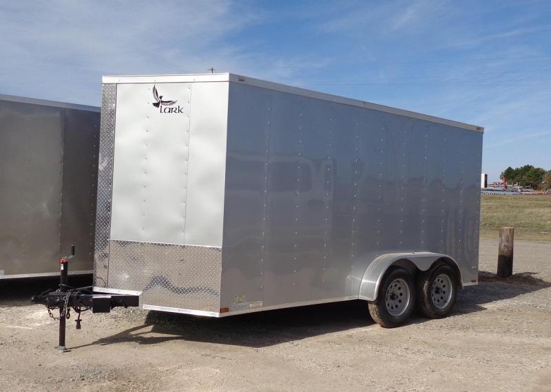 2020 Lark 7' x 14' V-Nose Enclosed Cargo Trailer