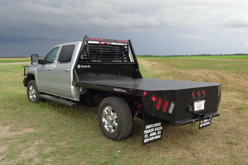 2020 Circle D 7 x 8.5 SD Flatbed Truck Bed