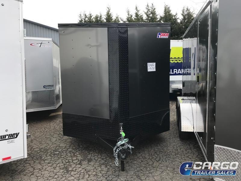 2021 Pace American OB7X14TE2DLX Enclosed Cargo Trailer