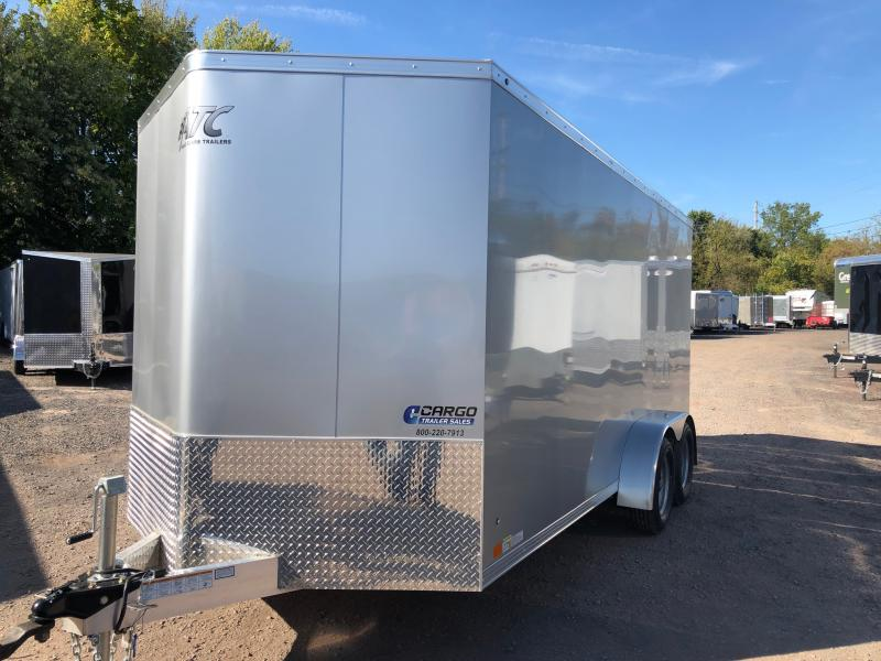 2020 Aluminum Trailer Company RAVAB7016+2 Enclosed Cargo Trailer