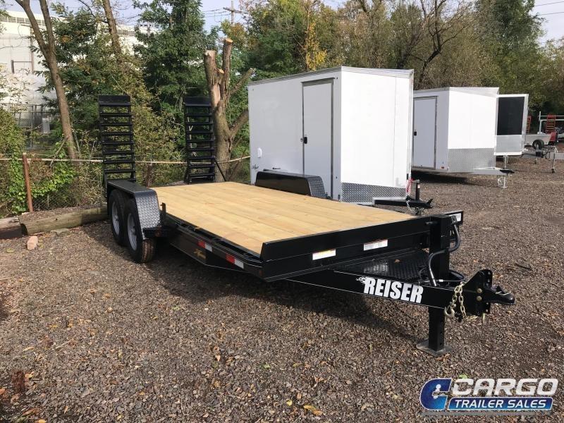 2020 Reiser Trailers ET2012K Equipment Trailer