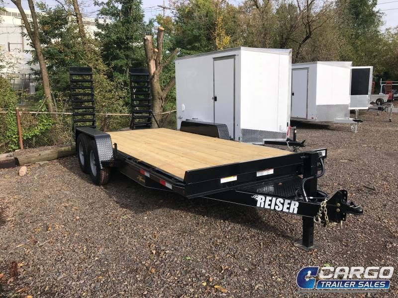 2020 Reiser Trailers ET2012K Equipment Trailer