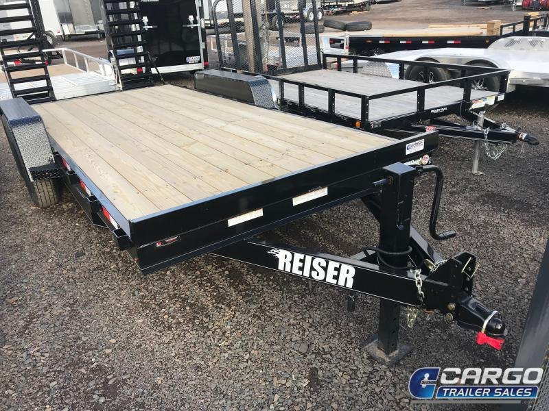 2020 Reiser Trailers ET1812K Equipment Trailer