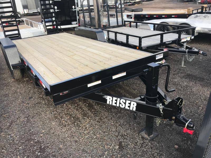 2020 Reiser Trailers ET1812K Equipment Trailer