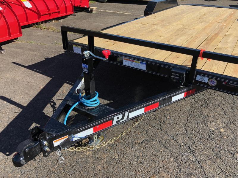 2020 PJ Trailers CE 5 Channel Equipment Equipment Trailer