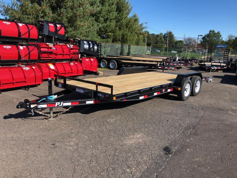2020 PJ Trailers CE 5 Channel Equipment Equipment Trailer