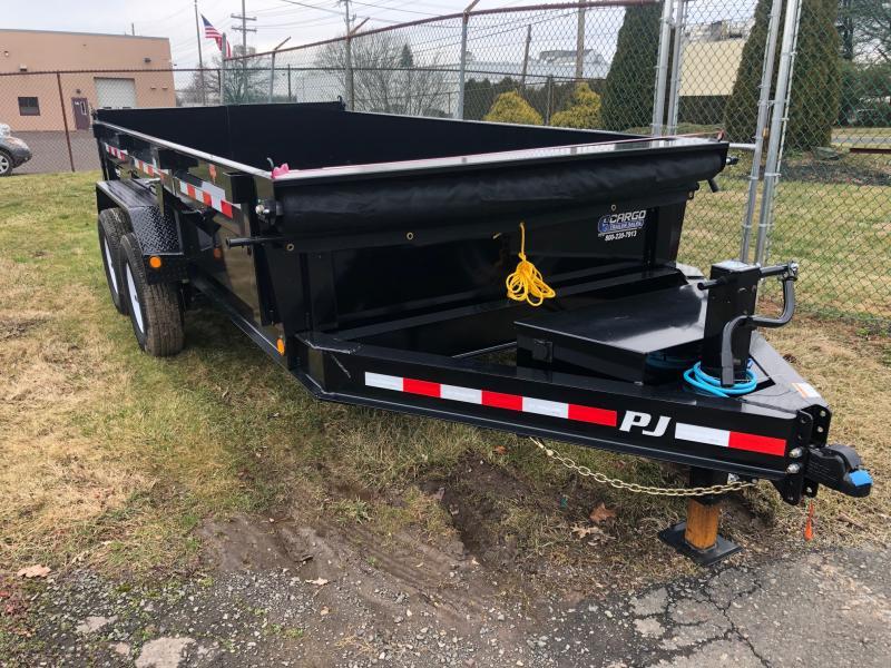 2020 PJ Trailers DL 83 x 14 Dump