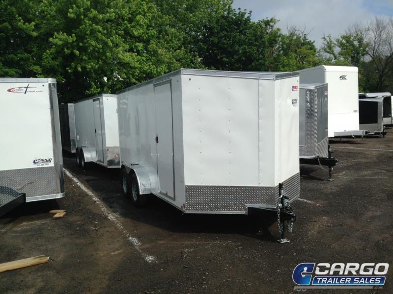 2020 Pace American OB 714 Enclosed Cargo Trailer
