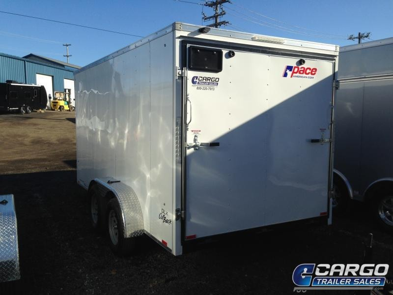 2020 Pace American OB 714 Enclosed Cargo Trailer
