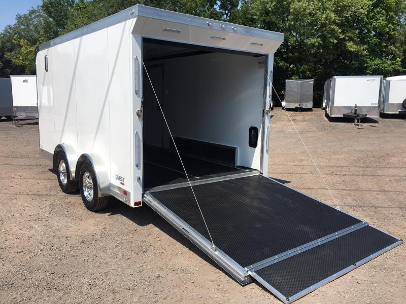 2020 Aluminum Trailer Company QSTAB7514+0 Motorcycle Trailer