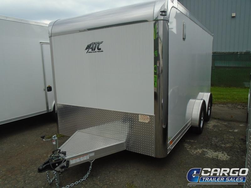 2020 Aluminum Trailer Company QSTAB7514+0 Motorcycle Trailer