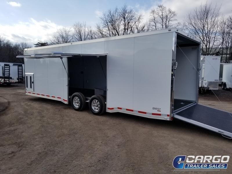 2019 Aluminum Trailer Company QSTAB8528 Car / Racing Trailer