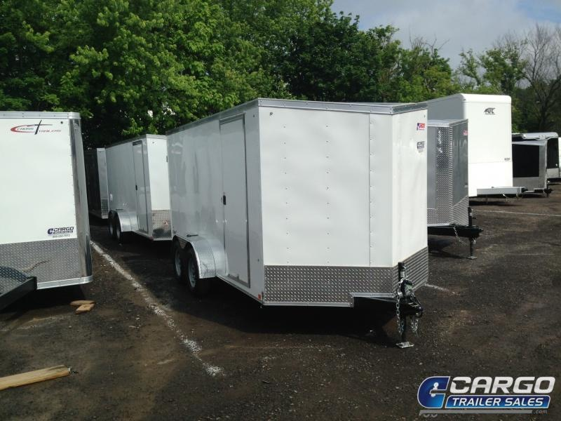 2021 Pace American OB 714 Enclosed Cargo Trailer