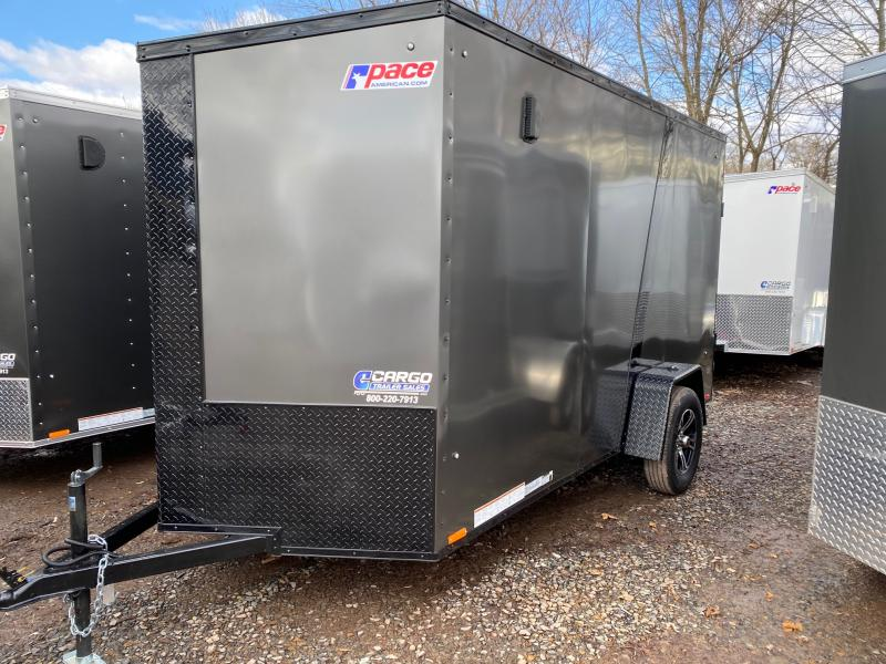 2021 Pace American JV 6X12 Enclosed Cargo Trailer