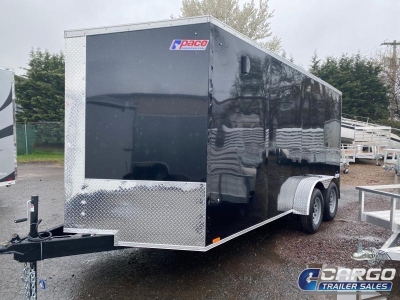 2021 Pace American JV 7 X 16 TE2 Enclosed Cargo Trailer