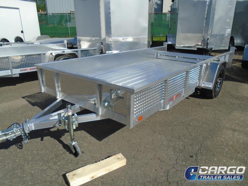 2020 Sport Haven AUT610DS-F Utility Trailer