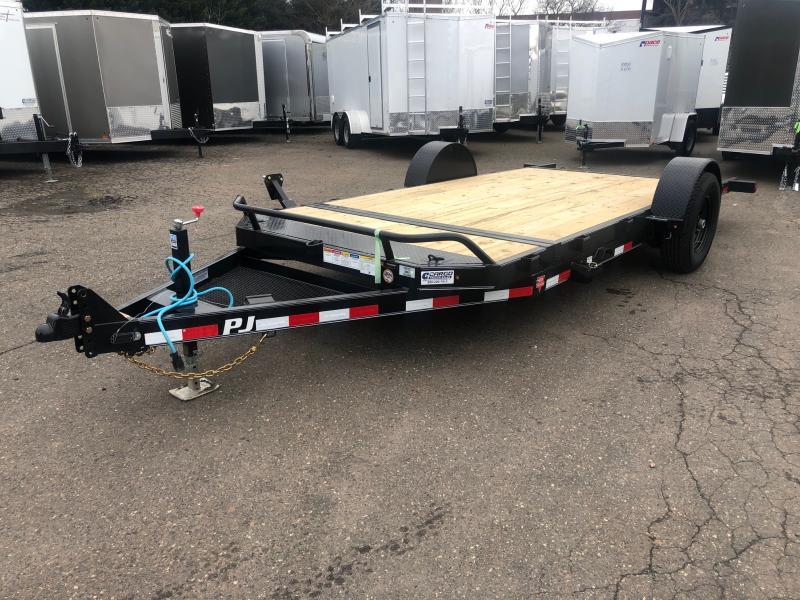 2020 PJ Trailers SA HD 16 Tilt Equipment Trailer