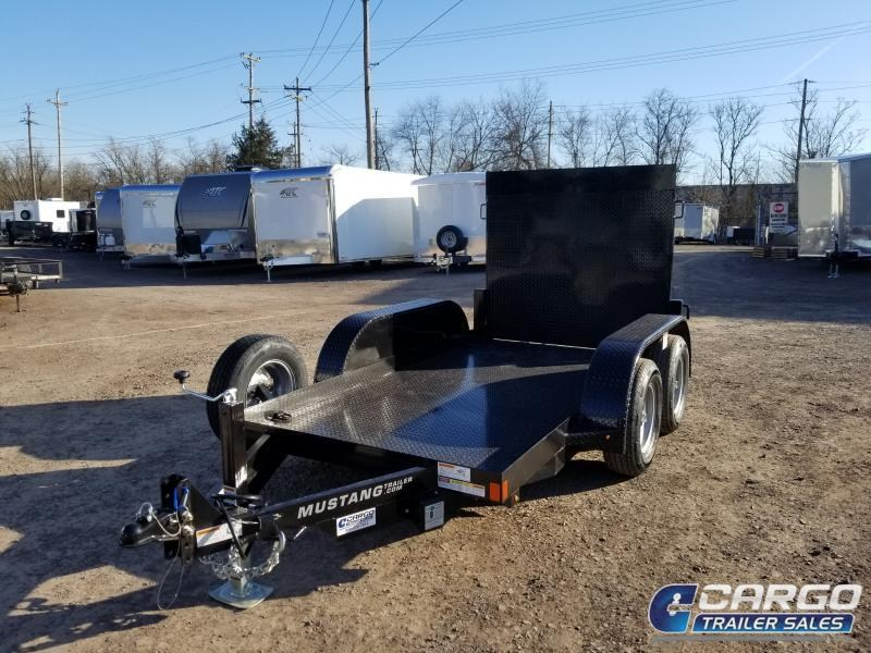 2019 Mustang Trailer Manufacturing 510MA7000 Equipment Trailer