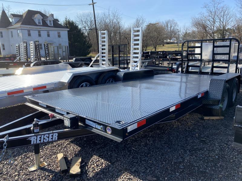 2020 Reiser Trailers DCH187k Car / Racing Trailer