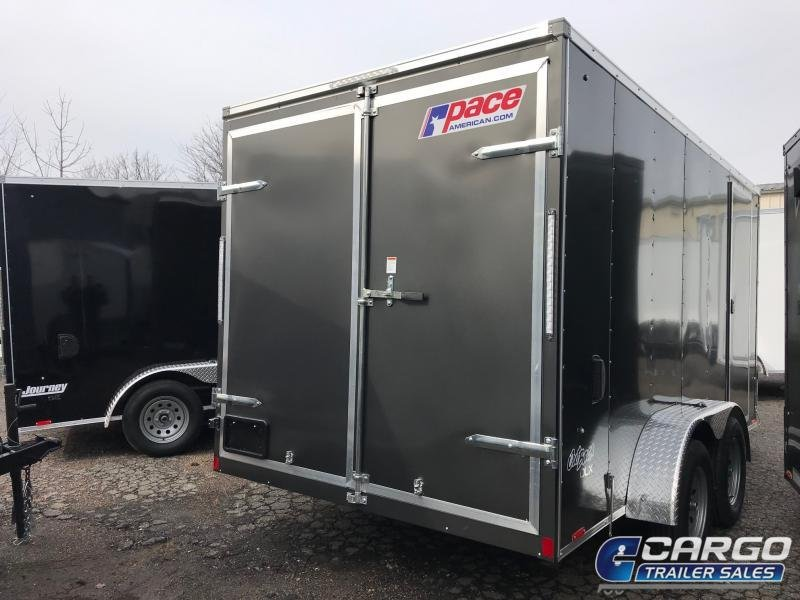 2021 Pace American OB 7X14 Enclosed Cargo Trailer