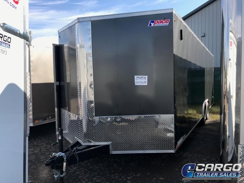 2021 Pace American OB 7x14 Car / Racing Trailer