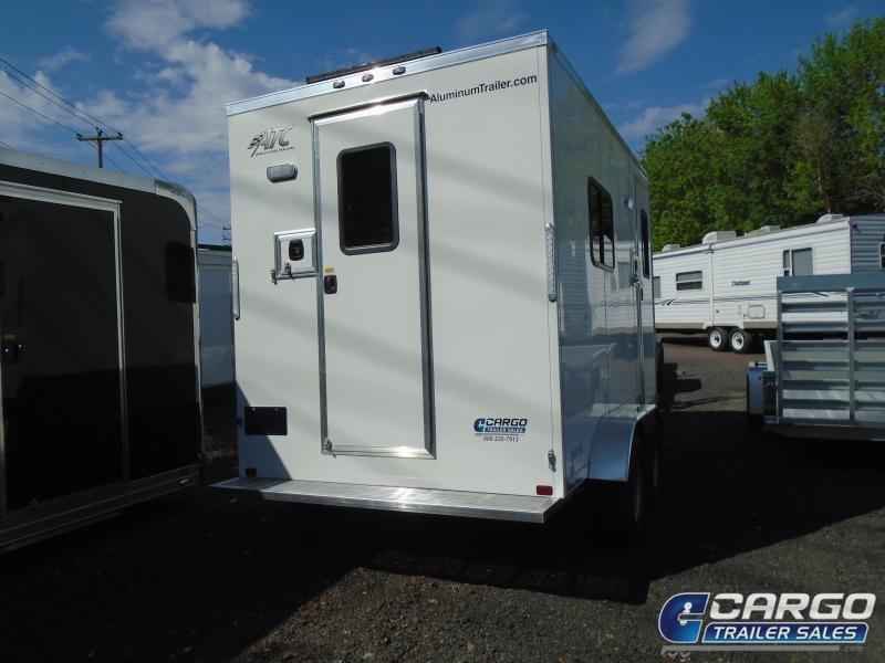 2020 Aluminum Trailer Company QSTAB712+0 Enclosed Cargo Trailer