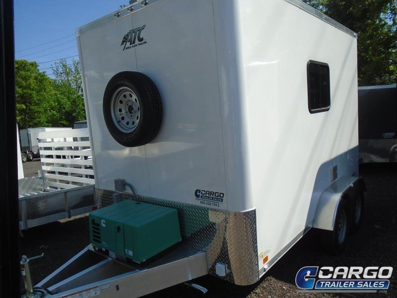 2020 Aluminum Trailer Company QSTAB712+0 Enclosed Cargo Trailer