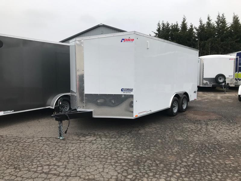 2021 Pace American JV 8.5X16 Enclosed Cargo Trailer