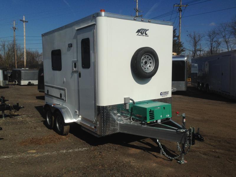 2019 Aluminum Trailer Company QSTAB7012+0-2T3.5K Enclosed Cargo Trailer