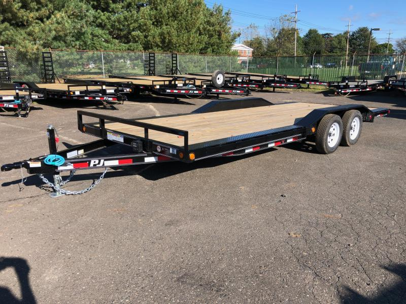 2020 PJ Trailers B5 Car Hauler 7k Car / Racing Trailer