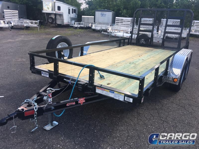 2020 PJ Trailers UK214 Utility Trailer