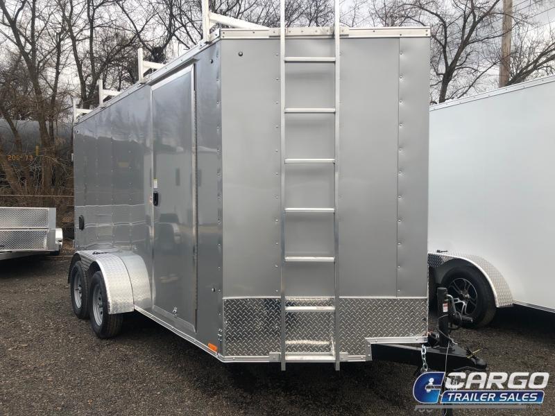 2021 Pace American OB 714 TE2 DLX Enclosed Cargo Trailer