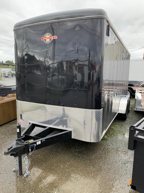 2019 Carry-On 7x18 ramp Enclosed Cargo Trailer