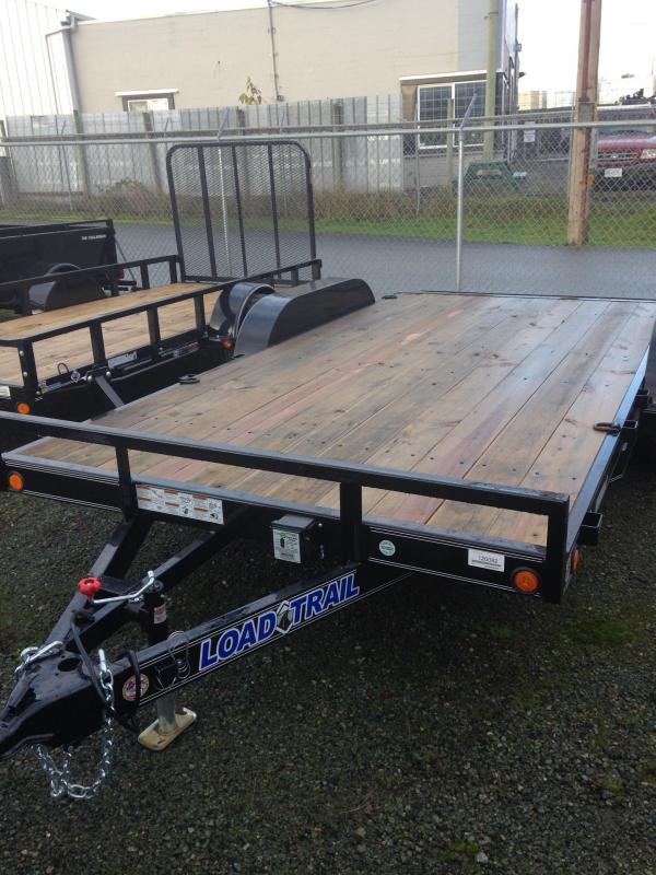 2020 Load Trail CH10 Carhauler 83 x 20 Flatbed Trailer
