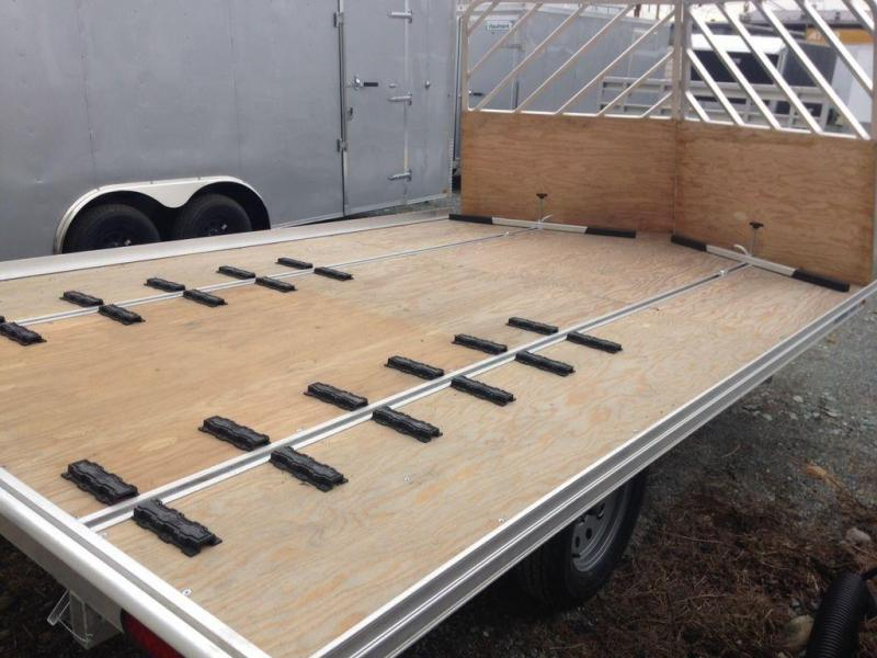 2020 Mission DRIVE ON/OFF MFS101x12LV Snowmobile Trailer