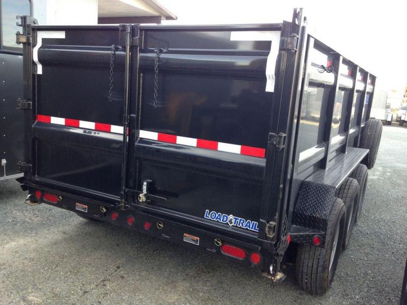 2020 Load Trail DT16 DT8316073 21K Triple Axle Dump Trailer